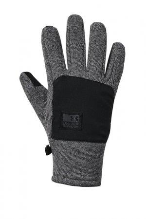 Перчатки Under Armour. Цвет: серый