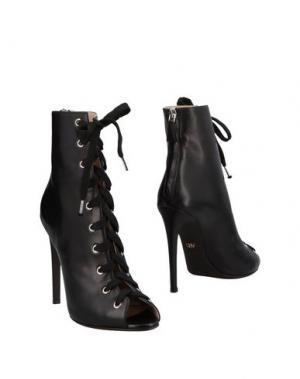Полусапоги и высокие ботинки GIAMBATTISTA VALLI. Цвет: черный