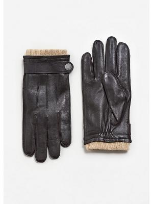 Перчатки p - MIGUEL1 MANGO MAN. Цвет: темно-коричневый