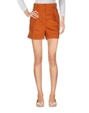 Повседневные шорты ATOS LOMBARDINI. Цвет: ржаво-коричневый