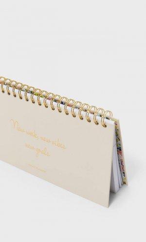 Ежедневник С Цветочным Принтом На Обложке Женская Коллекция Multicolor 103 Stradivarius. Цвет: multicolor