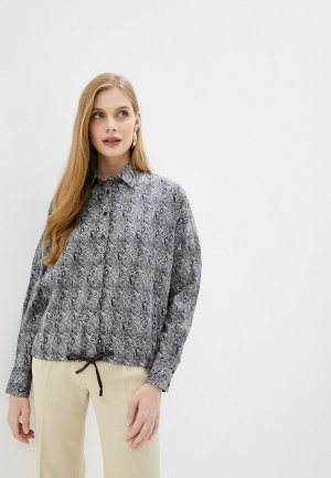 Рубашка Naumi. Цвет: серый