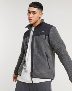 Серая флисовая куртка на молнии Berghus Syker-Серый Berghaus