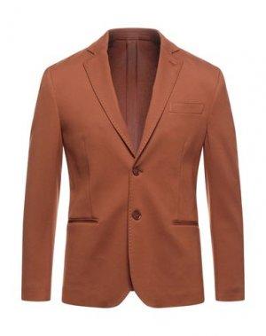 Пиджак TAKESHY KUROSAWA. Цвет: ржаво-коричневый