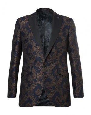 Пиджак FAVOURBROOK. Цвет: темно-синий