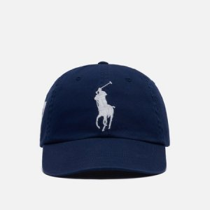 Кепка Classic Sport Embroidered Logo Polo Ralph Lauren. Цвет: синий