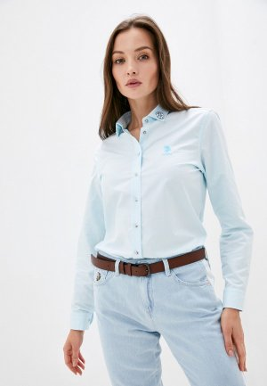 Блуза U.S. Polo Assn.. Цвет: бирюзовый