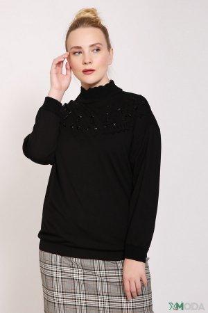 Пуловер Via Appia. Цвет: чёрный
