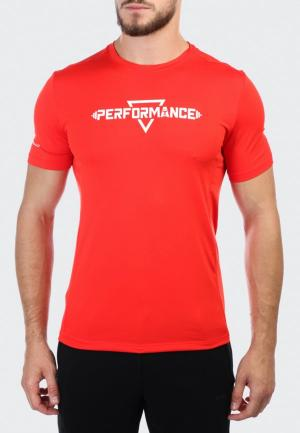 Футболка спортивная Anta Cross-training Performance. Цвет: красный