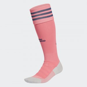 Гостевые игровые гетры Реал Мадрид 20/21 Performance adidas. Цвет: розовый
