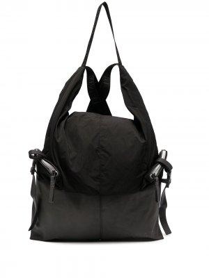Рюкзак с логотипом Premiata. Цвет: черный