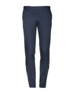 Повседневные брюки CERRUTI 1881. Цвет: темно-синий
