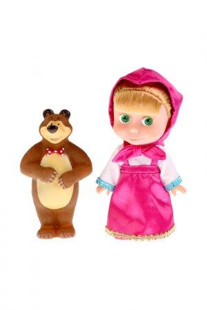 Кукла Маша и медведь: Карапуз. Цвет: розовый