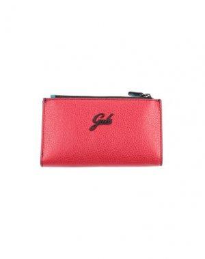 Бумажник GABS. Цвет: красный