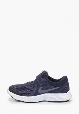 Кроссовки Nike BOYS REVOLUTION 4 (PS) PRESCHOOL SHOE. Цвет: синий