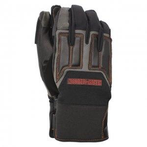 Комбинированные перчатки Genuine Motorclothes Harley-Davidson. Цвет: чёрный