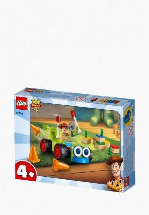 Конструктор LEGO 4+ 10766 Вуди на машине. Цвет: разноцветный