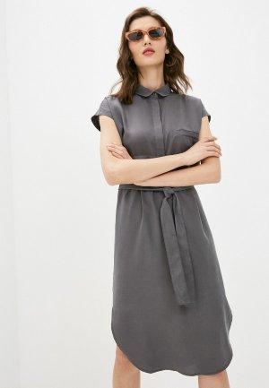 Платье Savage. Цвет: серый