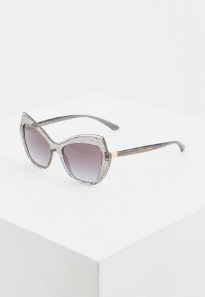Очки солнцезащитные Dolce&Gabbana DG4361 32138G. Цвет: серый