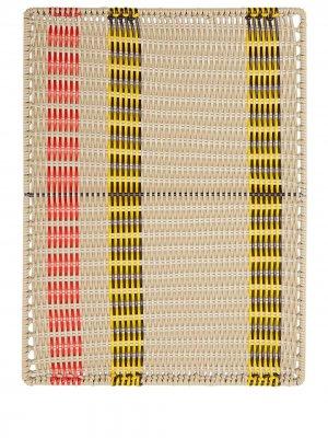 Плетеный поднос MARNI INTERIORS. Цвет: нейтральные цвета