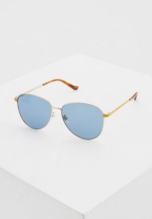Очки солнцезащитные Gucci GG0573SK 004. Цвет: синий