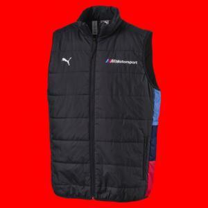 Жилет BMW MMS Padded Vest PUMA. Цвет: серый