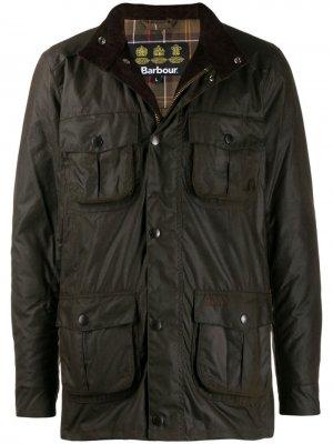 Вощеная куртка Corbridge Barbour. Цвет: коричневый