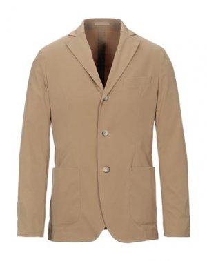 Пиджак CRUNA. Цвет: верблюжий