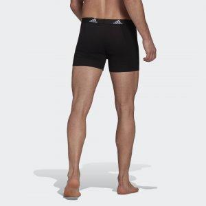 Боксеры Logo Performance adidas. Цвет: черный