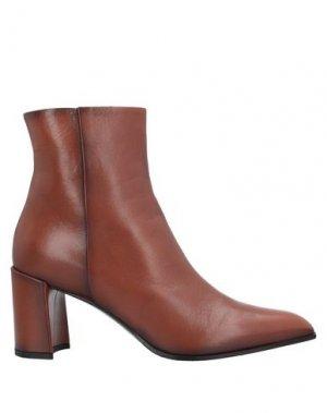 Полусапоги и высокие ботинки PREMIATA. Цвет: желто-коричневый
