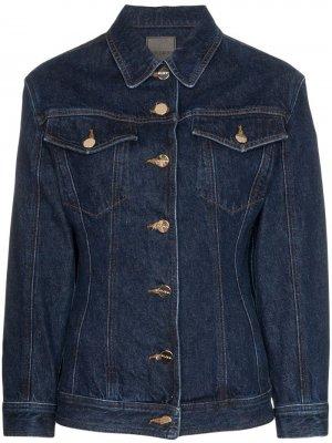 Приталенная джинсовая куртка GOLDSIGN