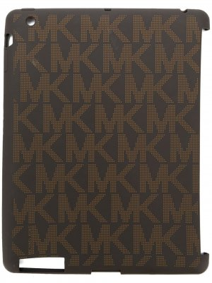 Чехол для планшета с монограммами Michael Kors. Цвет: коричневый