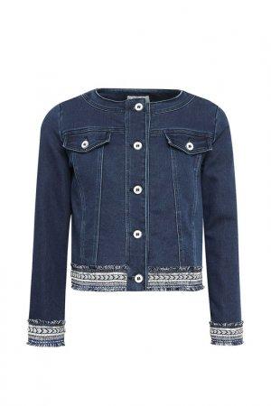 Куртка Aletta. Цвет: синий