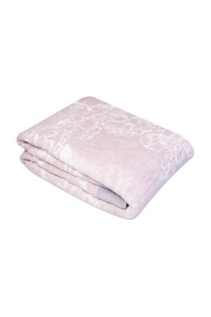 Покрывало-плед 200х210 CASABEL. Цвет: розовый, белый, серый