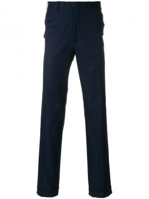 Классические брюки Brioni. Цвет: синий