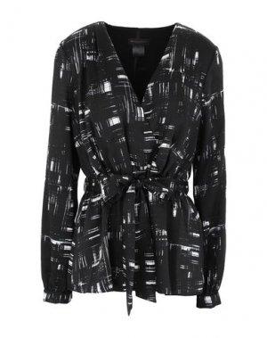 Блузка DONNA KARAN. Цвет: черный