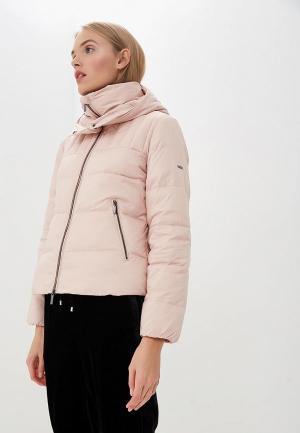 Пуховик Armani Exchange. Цвет: розовый