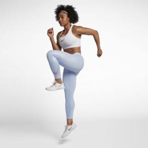 Женские тайтсы для тренинга длиной 7/8 Pro Nike. Цвет: синий