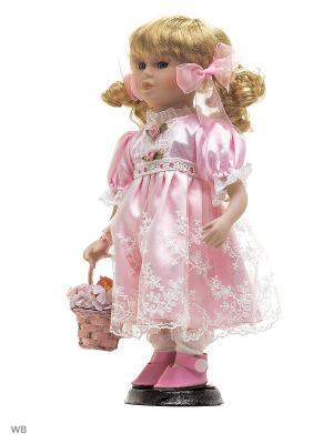 Кукла фарфор 12 Келли Angel Collection. Цвет: розовый, белый