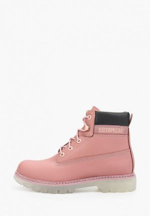 Ботинки Caterpillar LYRIC. Цвет: розовый