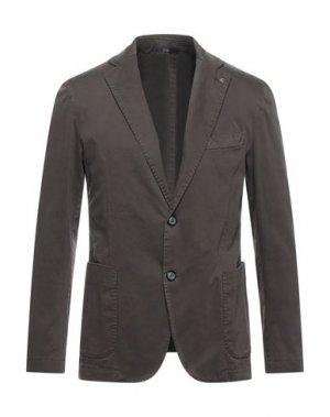 Пиджак EXIGO. Цвет: свинцово-серый