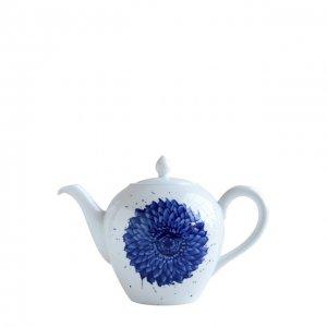 Чайник In Bloom Bernardaud. Цвет: синий