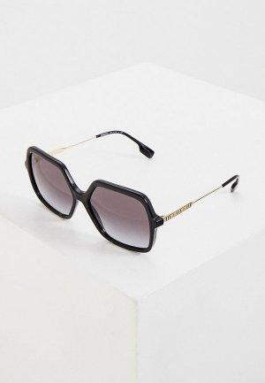 Очки солнцезащитные Burberry BE4324 30018G. Цвет: черный