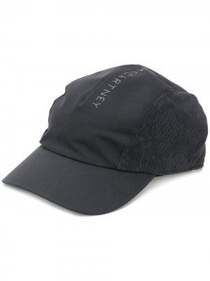 Бейсболка с логотипом adidas by Stella McCartney. Цвет: черный