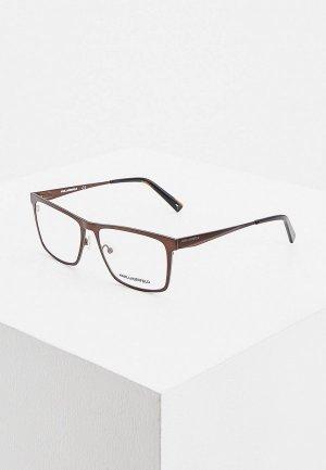 Оправа Karl Lagerfeld. Цвет: коричневый