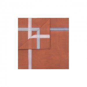 Хлопковый платок Simonnot-Godard. Цвет: коричневый