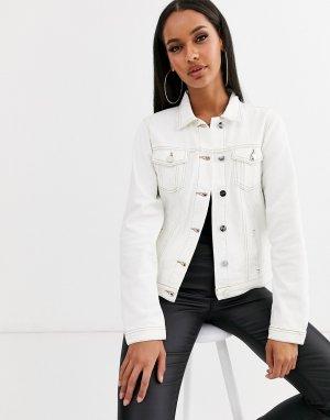 Джинсовая куртка -Белый Lipsy