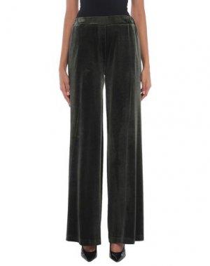 Повседневные брюки ANNARITA N TWENTY 4H. Цвет: зеленый-милитари