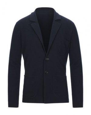 Пиджак CRUCIANI. Цвет: темно-синий
