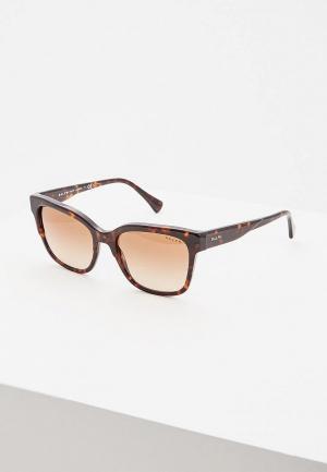 Очки солнцезащитные Ralph Lauren RA5247 500313. Цвет: коричневый